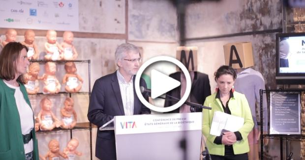 Video action VITA : boutique éphémère du marché de la procréation
